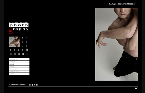 lemayphoto.com- Flash based photography portfolio featuring content management system (CMS)