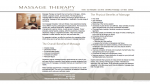 Massage Therapy on Dunbar - Benefits of Massage