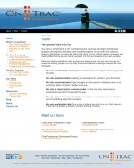 website design - OnTrac Coaching