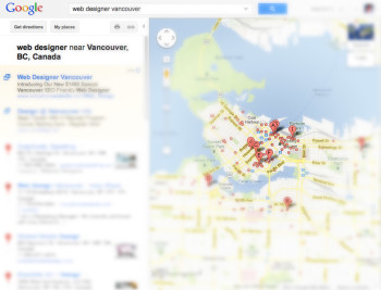 local seo search results vancouver